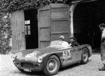 HWM JAGUAR - 1954 Mille Miglia 1-2.5.54 Abecassis with Denis Jenkinson